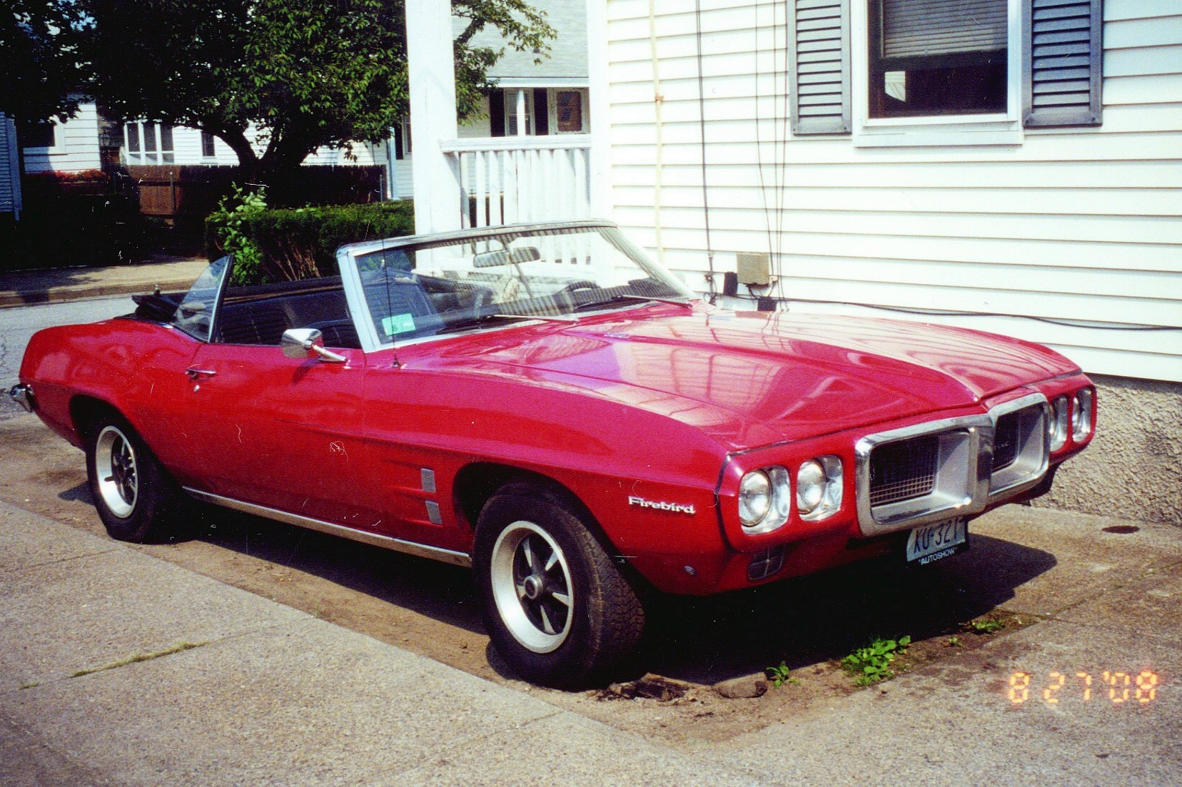 This 69 firebird was hers but now it is mine